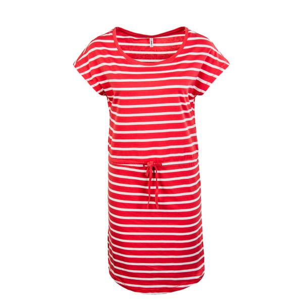 Damen Kleid - May Life - Cayenne / Stripes / White