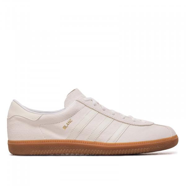 Herren Sneaker - Blanc H01800 - White - White - Gold