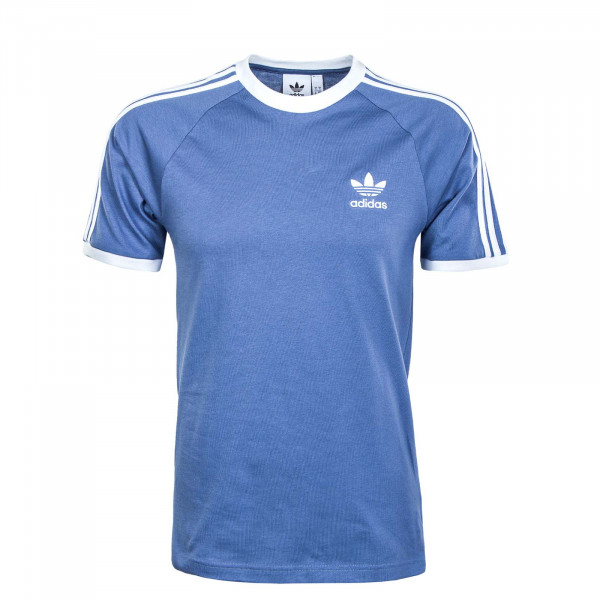 Herren T-Shirt - 3 Stripes GN3501 Crew - Blue