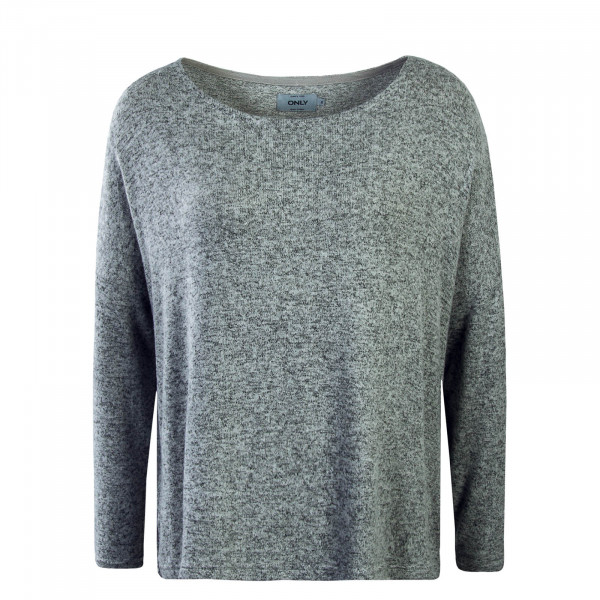 Damen Longsleeve Knit Maye Light Grey