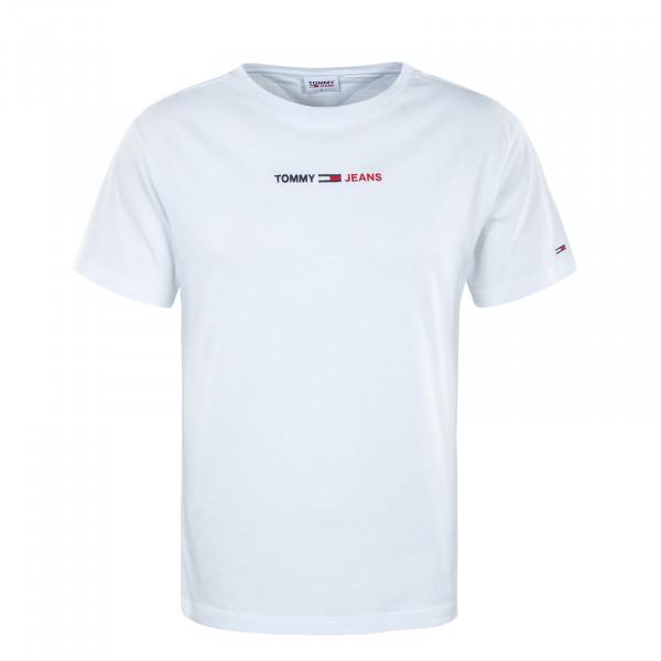 Herren T-Shirt - Linear Logo Tee - White