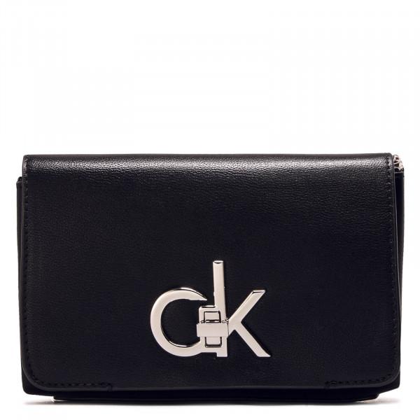 Bag RE Lock Flap Cross Body Black