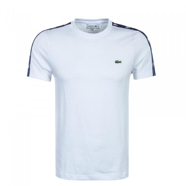Herren T-Shirt - White / Navy Blue