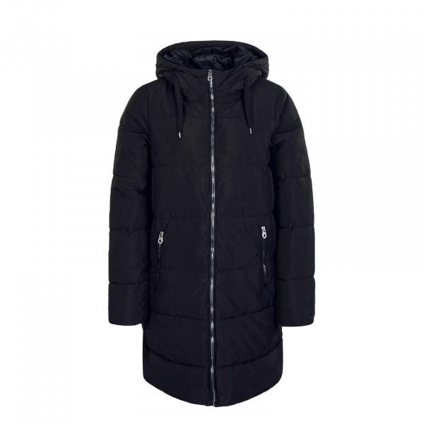 Mantel Dolly Long Puffer Coat Black