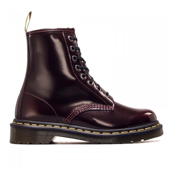 Damen Boots 8 Eye Vegan 1460 Cherry Red