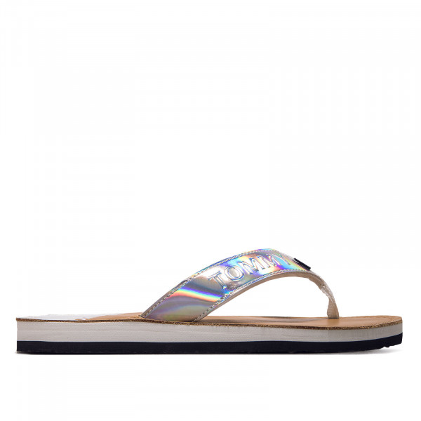 Dam Flip Flop - Iridecent Beach Sandal - White