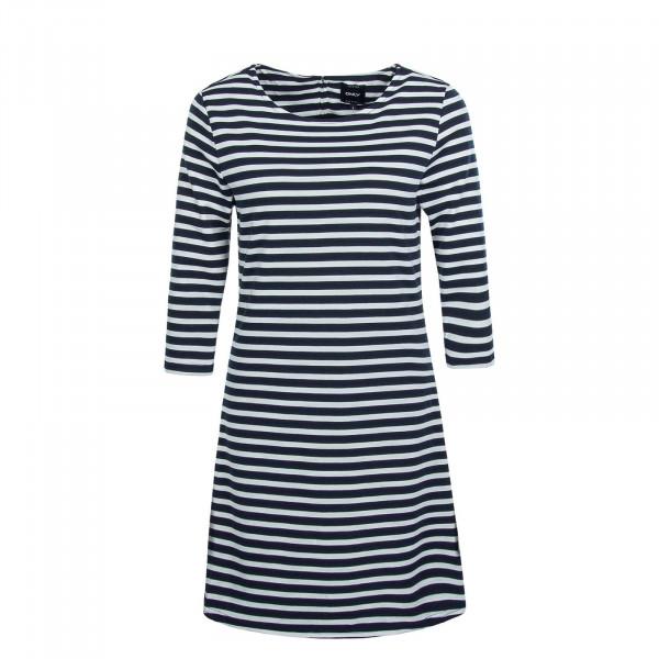 Damen Kleid  Brilliant White Navy