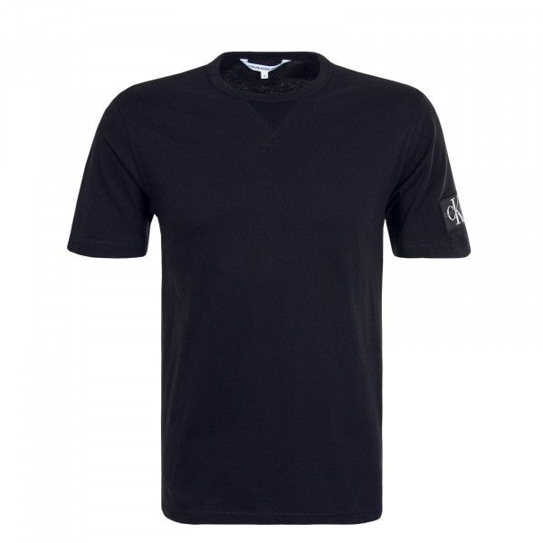 Herren T-Shirt Monogram Sleeve 4051 Black