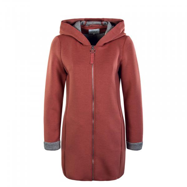 Damen Mantel - Lena Bonded Hood Coat - Withered Rose