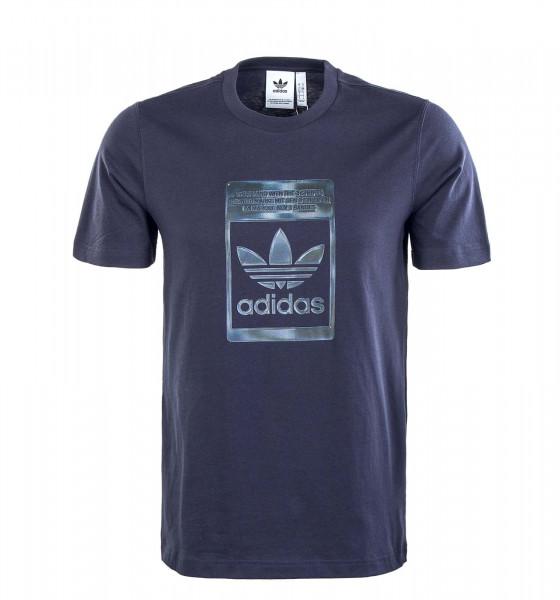 Herren T-Shirt - Camouflage Infill - Navy / Black