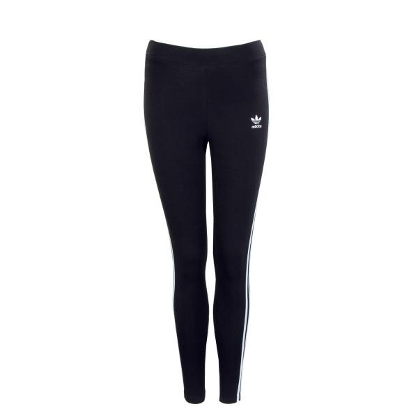 Damen Leggings - 3 Stripes Tight H09426 - Black