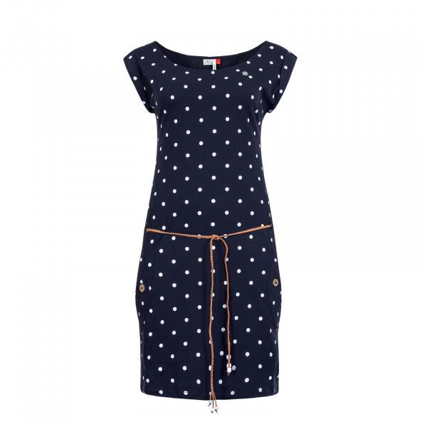 Kleid Tag Dots Navy