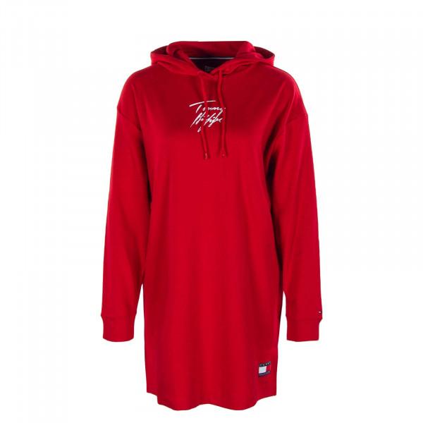 Damen Kleid - Hoodie 2865 Primary - Red