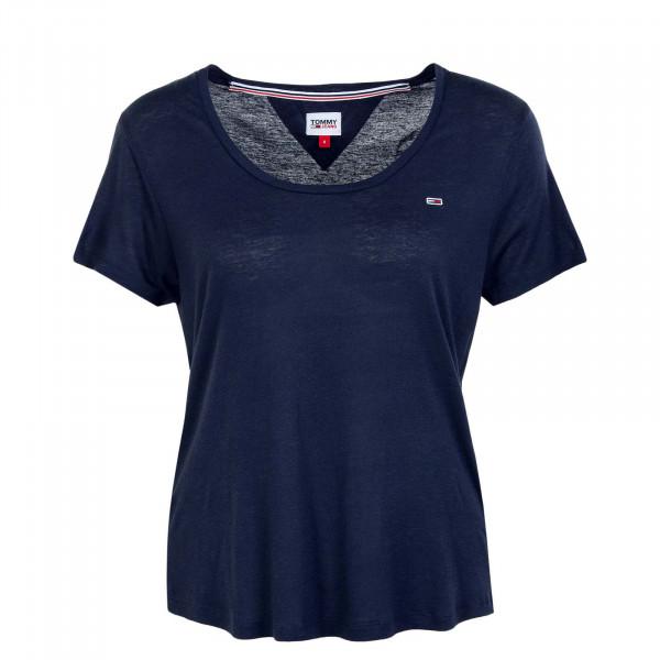 Damen T-Shirt - Regular Scoop 9789 - Twilight / Navy