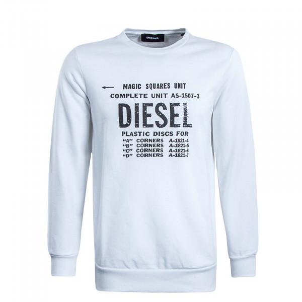 Herren Sweatshirt S57 White