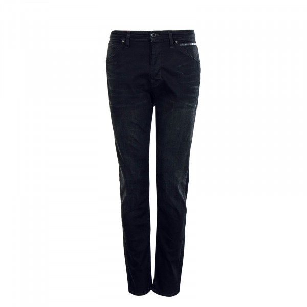 Herren Hose Chris Black Denim