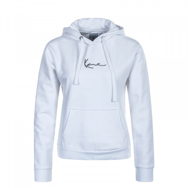 Damen Hoody Small Signature White
