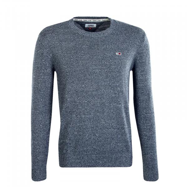 Herren Pullover Essential Textur Blue
