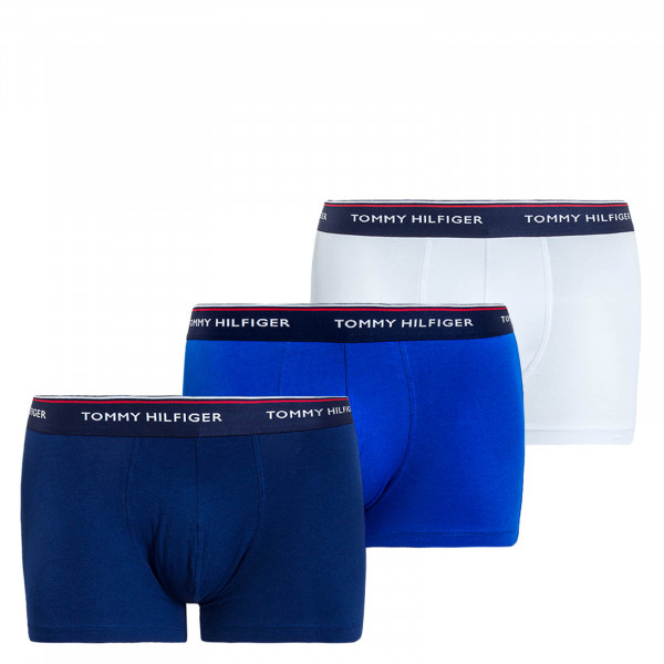 Herren Unterhose 3er Pack White Blue Navy
