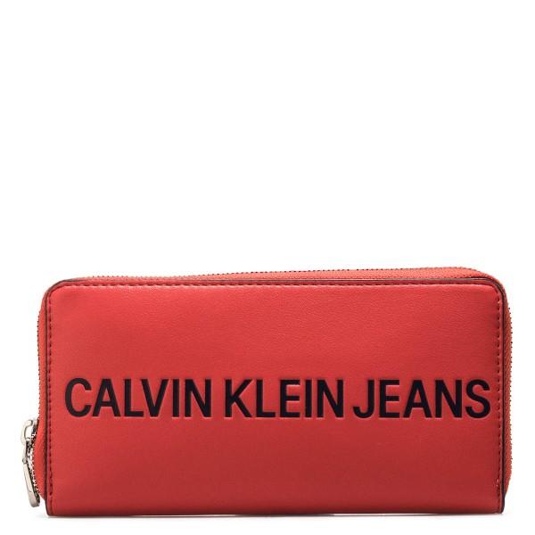 CK Wallet Sculpted Red Black