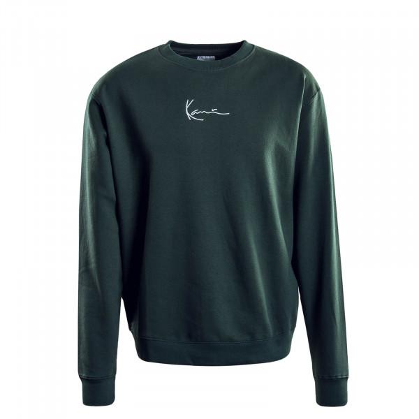 Herren-Sweatshirt Signature Green White