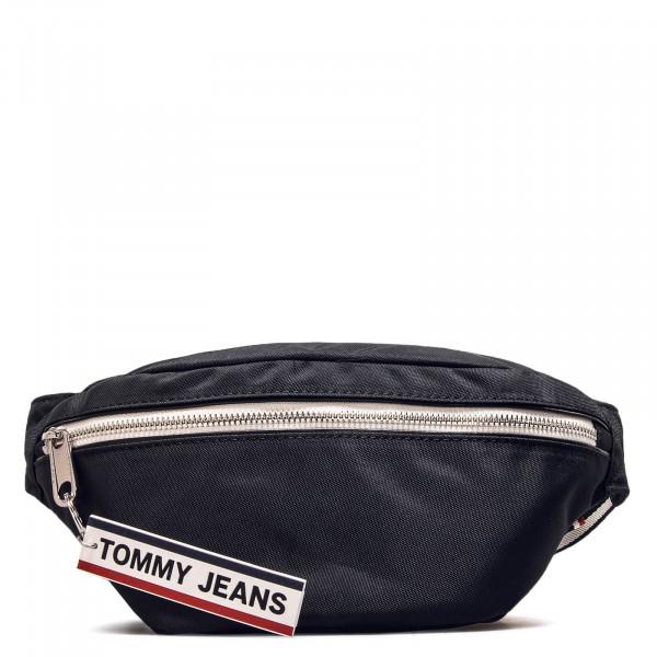Hip Bag Logo Tape Bumbag Black