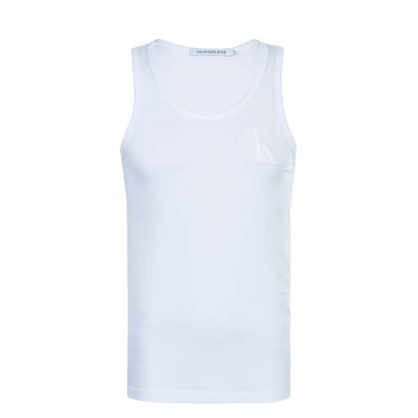 Herren Tank-Top Tonal CK 5284 White