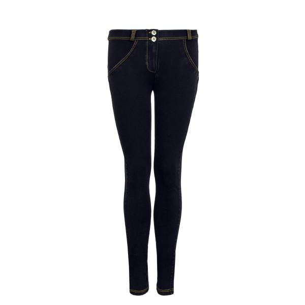 Damen Hose WR.UP® 1 RJ1E J7Y Black - Regular Waist Skinny