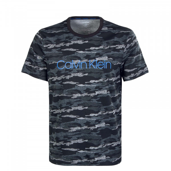 Herren T-Shirt - Crew Neck 2095 Chill Camouflage -  Black