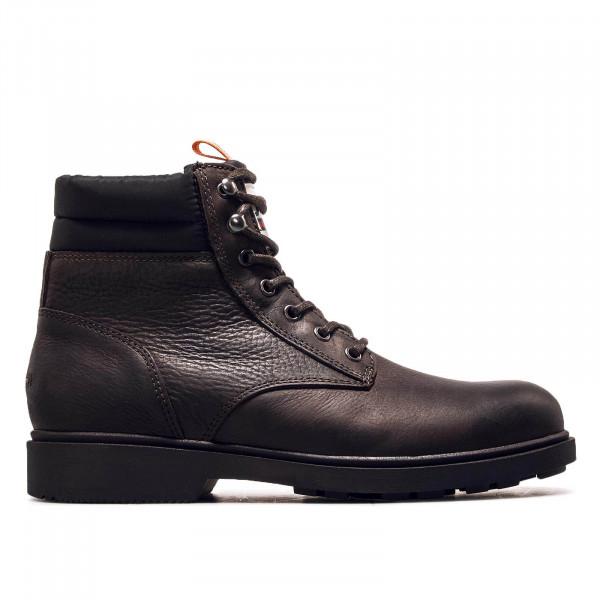 Herren Boot Casual Leather Coffee Bean