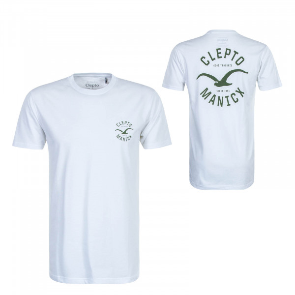 Herren T-Shirt Games White Rifle Green