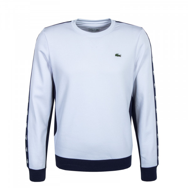 Herren Sweat - White / Navy Blue