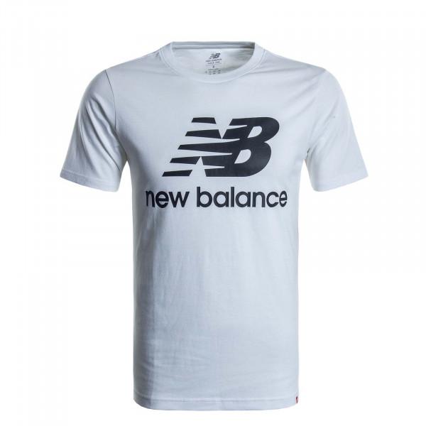 Herren T-Shirt MT01575 White Black
