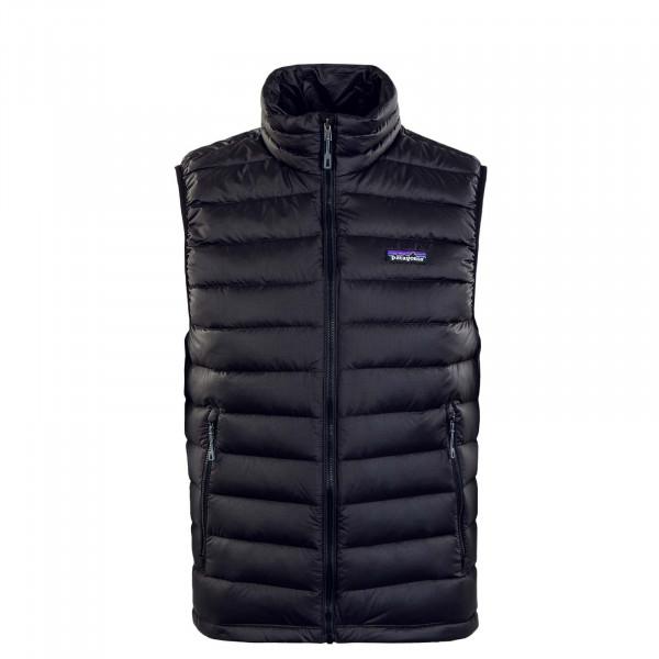 Herren Weste - Down Sweater - Black
