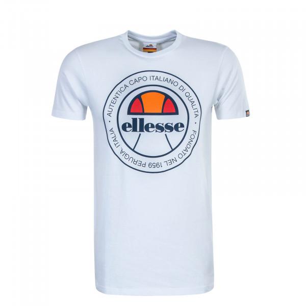 Herren T-Shirt Monaldo White Blue