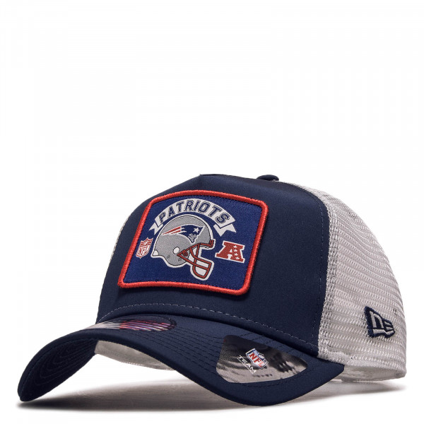 Cap Trucker Patriots Word Navy