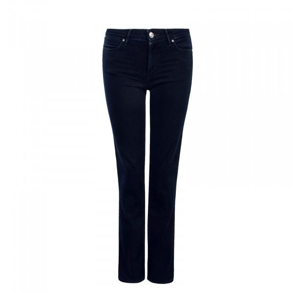Damen Jeans Straight Blue Black