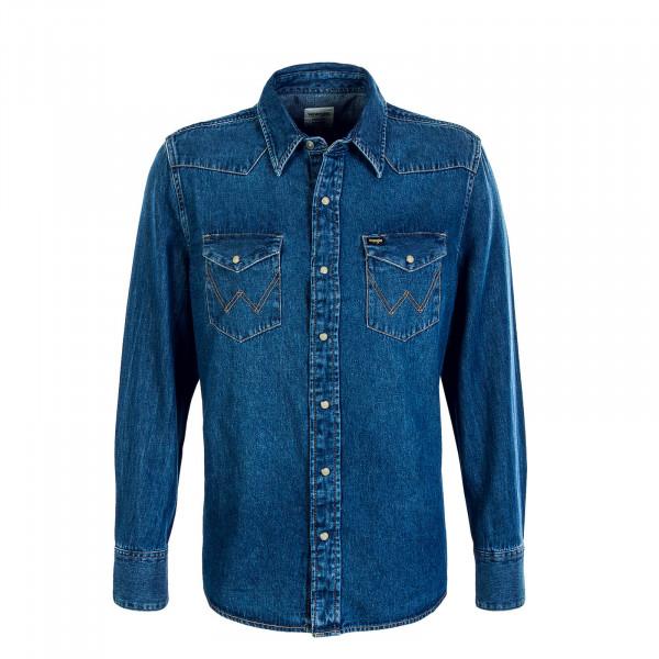 Herren Hemd Jeans 27MW 1Year Blue