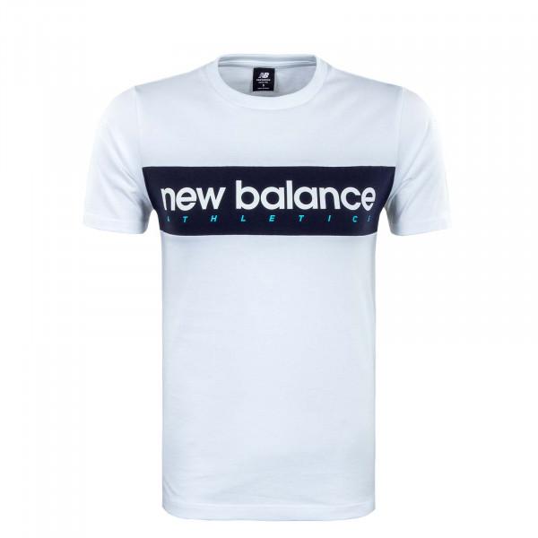 Herren T-Shirt - Athlineart - White