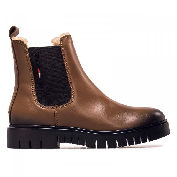 Damen Boots - Warmlined Chelsea Winter - Cognac