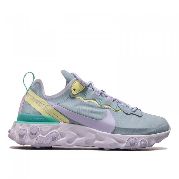 Damen Sneaker React Element 55 Mint Purple