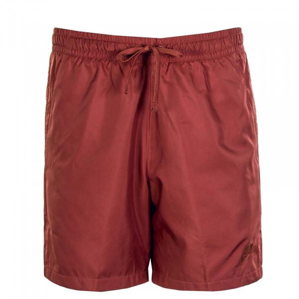 Herren Boardshort Flow Claystone Red