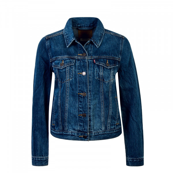 Damen Jeansjacke Original Trucker Blue