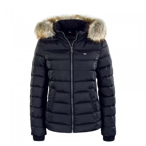 Damen Jacke Basic Hooded 8588 Black