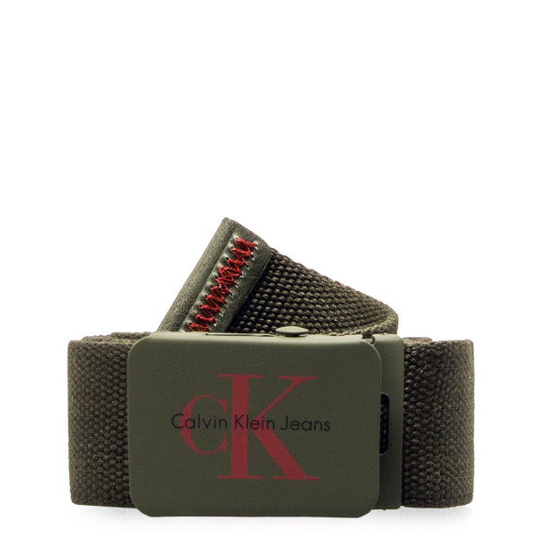 CK Belt RE Issure Canvas Olive