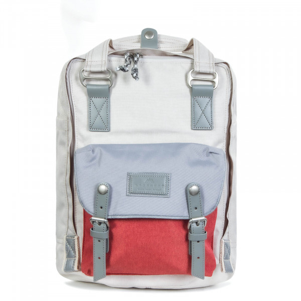 Rucksack Macaroon Space Collection Stone Light Grey