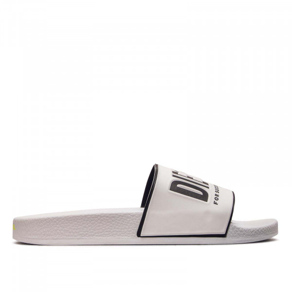 Diesel Slide Valla Star White Black Yellow