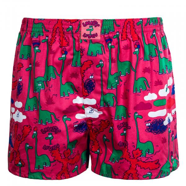 Herren Boxershort - Dinos - Pink
