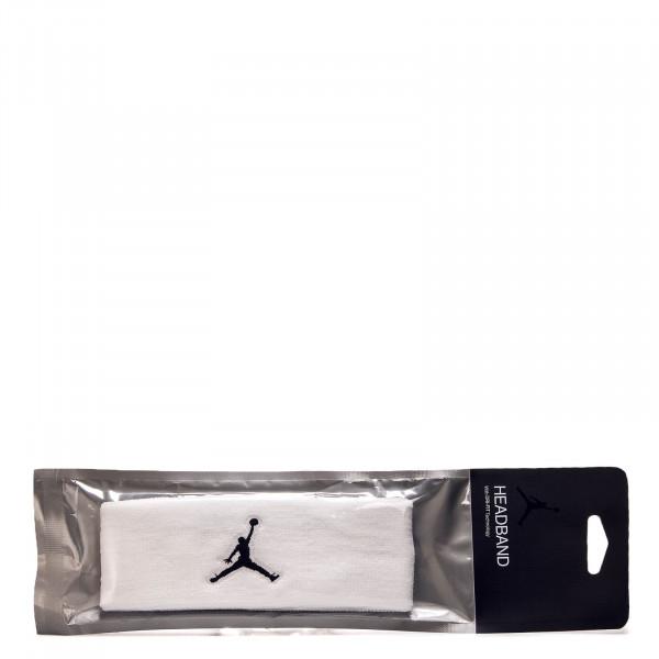 Jumpman Headband White Black