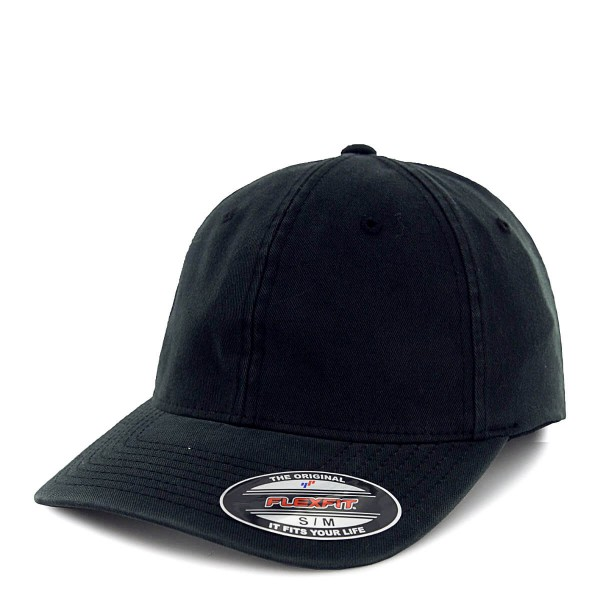 Flexfit Cap Garment Washed Black